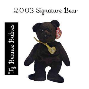 🔴 15/$25. 2003 Signature Bear